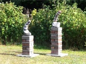 KunstKate FlyingStones zweier