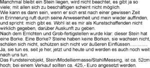 Text neu Steinborke